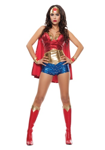wonder woman costume for Halloween