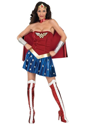 Traditional Wonder Woman Costumes