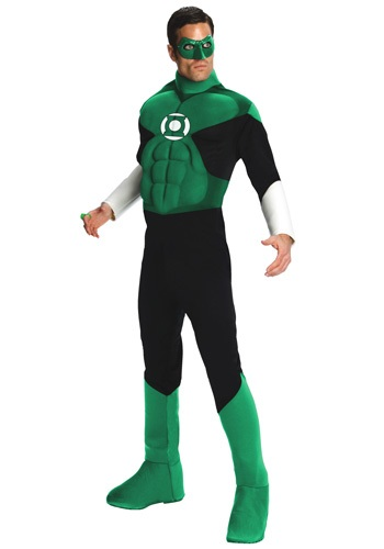 Green Lantern DC Comics superheroes costume