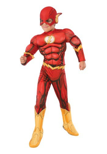 Muscle chest Flash costume